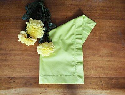 Guardanapo Verde Limão com ponto ajour