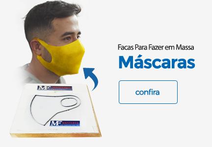 Faca Para Corte de Máscaras Ninjas