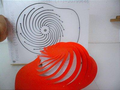 Faca para Viseira Espiral