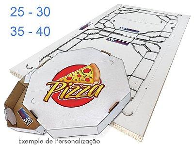 Faca Para Caixa de Pizza Oitavada (Redonda)