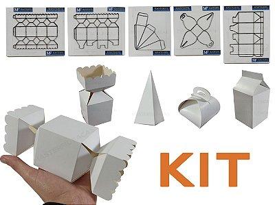 Kit Com 5 Facas Para o Ramo Festa - Kit Festa A4
