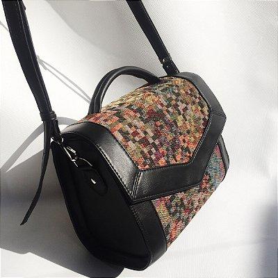 Bolsa Pixel colorida