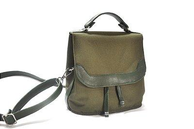Bolsa tipo maleta verde