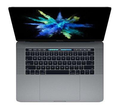 Apple Macbook Pro 15 Touch Bar 2017 MPTT2BZ/A Intel i7 Quad core 2,9 GHz 16GB 512GB SSD Cinza espacial - MPTT2