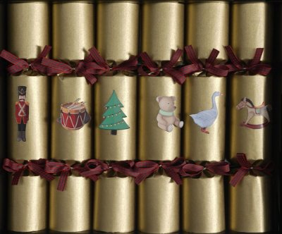 DELUXE CRACKERS - PERSONAGENS OURO KRAFT