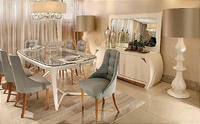 Mesa de Jantar com 6 cadeiras Occasione
