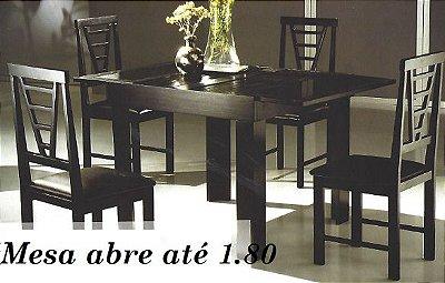 Mesa de Jantar com 6 cadeiras - Pequim