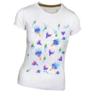 Tshirt Anemonas baby look