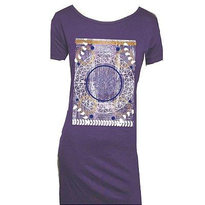 Maxi T shirt Mandala Deuses