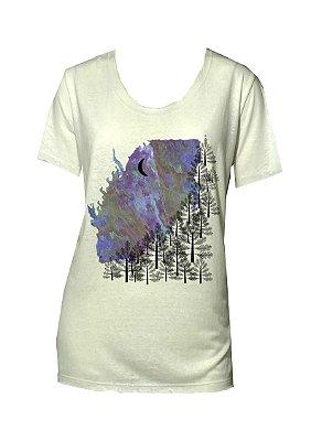 Camiseta malha off white pinheiros