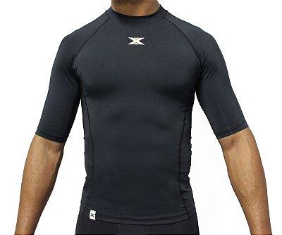 Camisa DX-3 Masculina Manga Curta - Alta Compressão