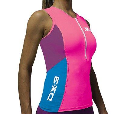 Top Feminino de Triathlon - Alta Compressão