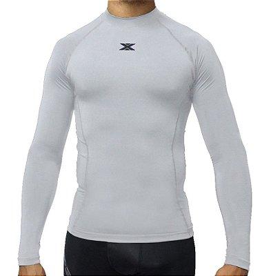 Camisa DX-3 Masculina Manga Longa - Alta Compressão