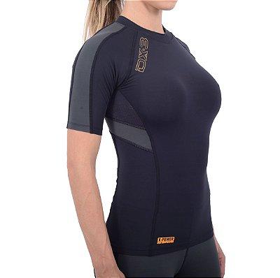 Camisa DX-3 Feminina Manga Curta - Alta Compressão