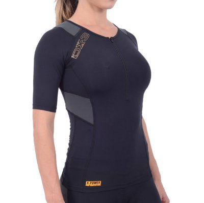 Camisa DX-3 Feminino de Ciclismo - Alta Compressão
