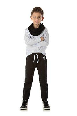 Calça infantil masculina moletom