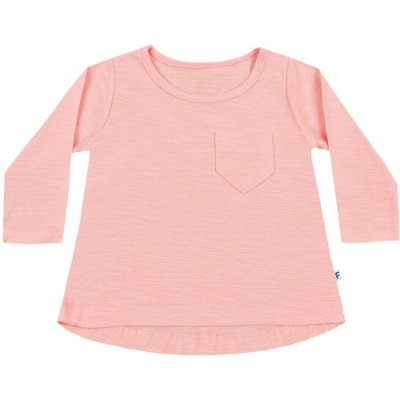 Blusa bebê ML básica rosa