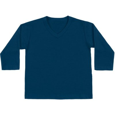 Camiseta ML básica azul marinho