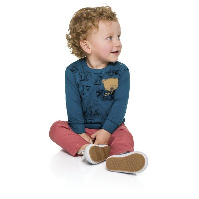 Camiseta ML little bear azul