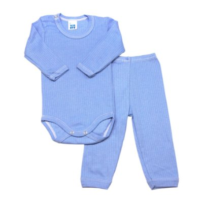Conjunto básico ML body e calça azul