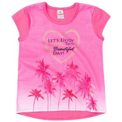 Camiseta infantil let's enjoy