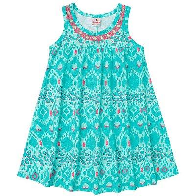 Vestido infantil azul Brandili