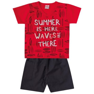 Conjunto infantil summer is here