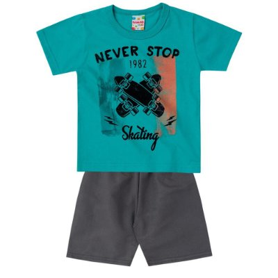 Conjunto infantil never stop