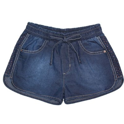 Shorts infantil jeans