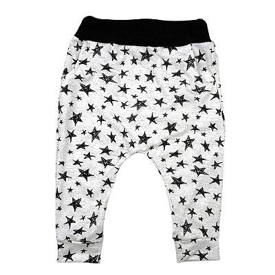Calça saruel bebê estrelas