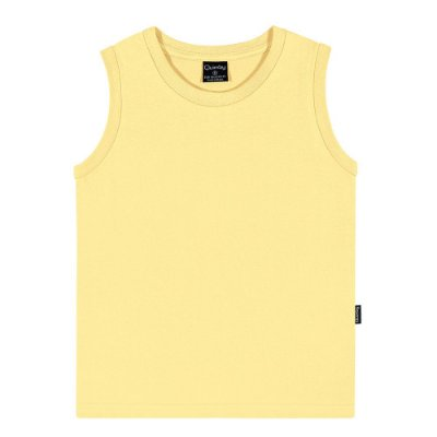 Regata infantil básica amarela