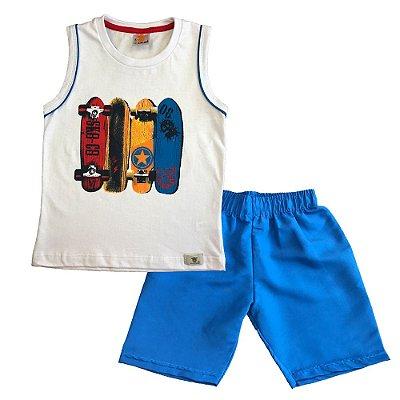 Conjunto infantil skate