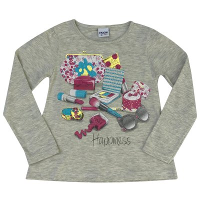 Blusa Infantil ML Happiness