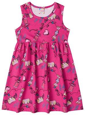 Vestido rosa Brandili