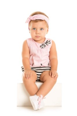 Body bebê menina melancia