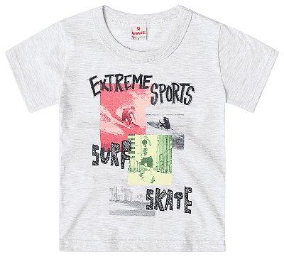 Camiseta infantil menino esportes