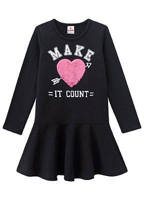 Vestido infantil make