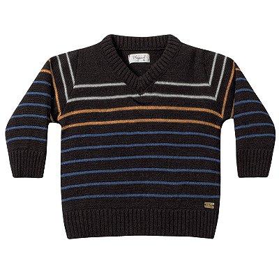 Casaco bebê menino tricô