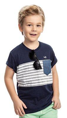 Camiseta infantil masculina