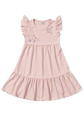 Vestido infantil midi