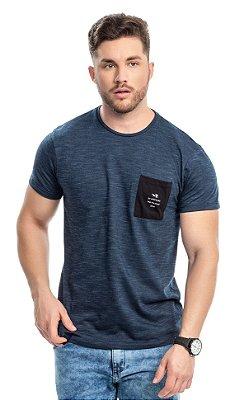 Camiseta masculina com bolsinho - TAL PAI