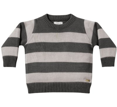 Casaco tricô bebê menino