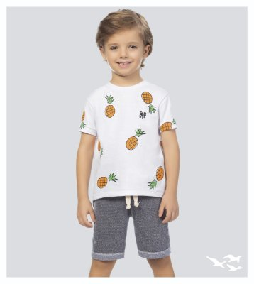 Conjunto infantil masculino abacaxi