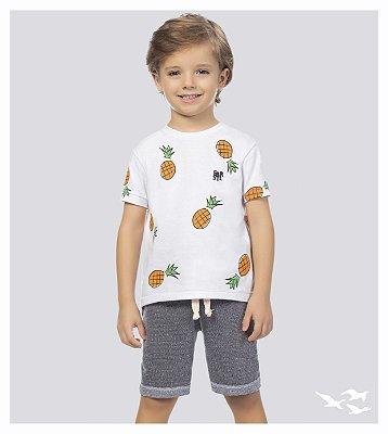 Conjunto infantil masculino abacaxi