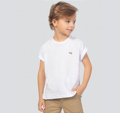 Camiseta básica infantil masculina