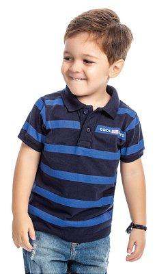 Camisa gola polo infantil menino