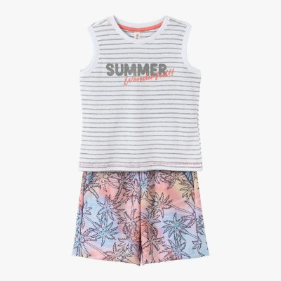 Conjunto infantil masculino summer