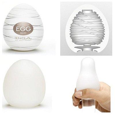 Masturbador tenga egg ovo - silky