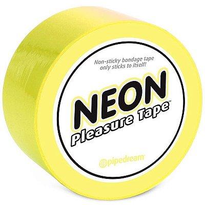 Fita para amarrar - neon bondage tape yellow