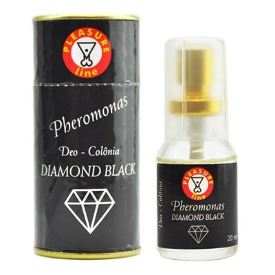 Deo pheromonas diamond black - colônia masc.